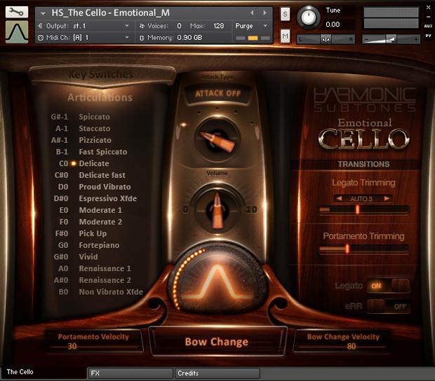 Emotional Cello Screen 1