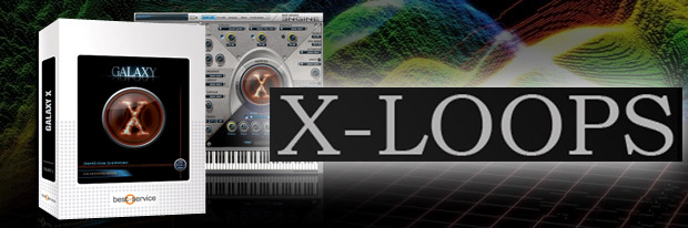 Galaxy X Loops Banner