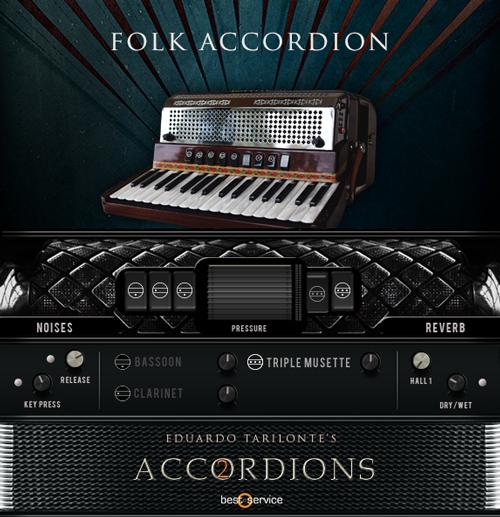 Folk Accordion GUI