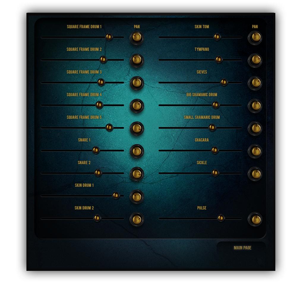 Dark ERA Mixer Screen